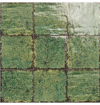 Wandtegel Artigiano Emerald...