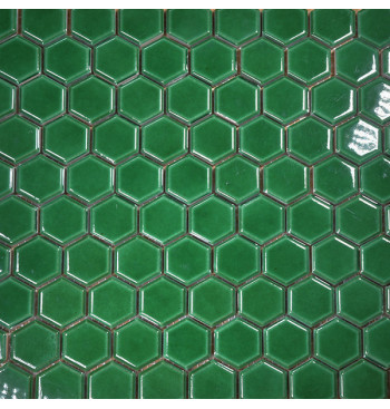 Hexagon mozaïek Emerald Green