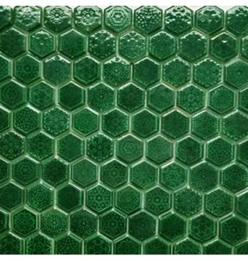 Hexagon mozaïek Emerald...