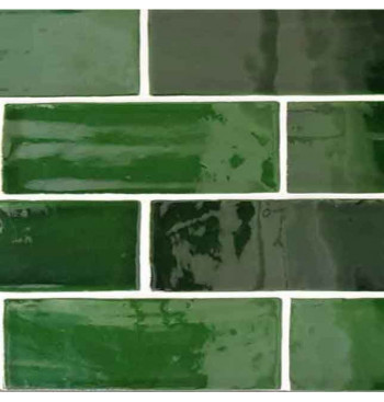 Wandtegel Emerald Green MIX...