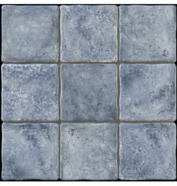 Vloertegel Duomo Blue 20x20cm