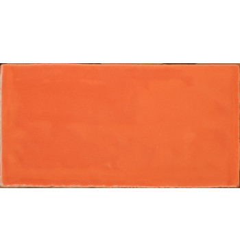 Wandtegel Orange 7.5x15cm...