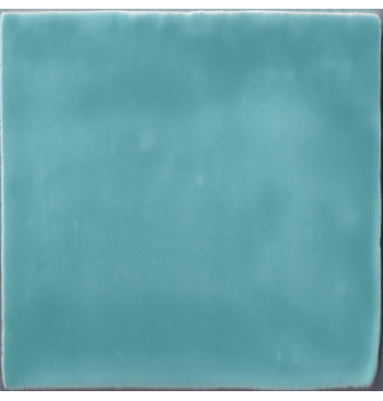 Spaans witje TURQUOISE 13x13cm