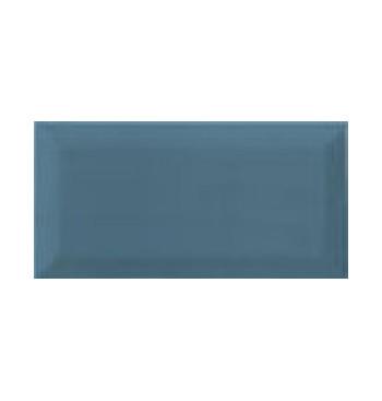 Metrotegel 10x20cm, blauw...