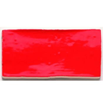 Wandtegel Red 7.5x15cm...