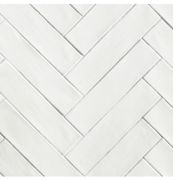 Wandtegel White 7.5x30cm...