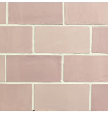 Wandtegel Pink MIX 7.5x15cm...