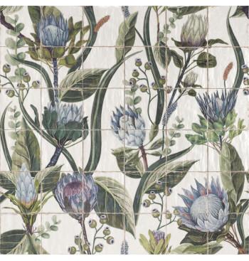 Protea dekor 36-delig 20x20cm