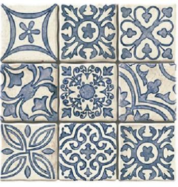 Vloertegel Monza blauw 20x20cm