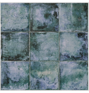Wandtegel Livorno Blue 20x20cm
