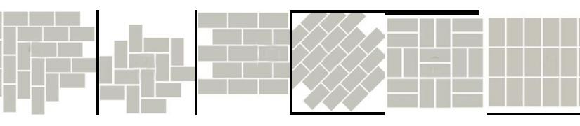 Metrotegel.com presenteert de kleine formaten, voor  alle ruimtes.